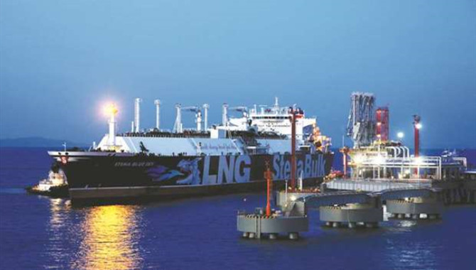 China's new subsea pipeline to boost LNG imports at Zhoushan terminal